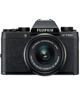 FUJIFILM X-T100 Mirrorless Digital Camera with 15-45mm Lens