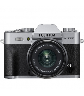 FUJIFILM X-T20 Mirrorless Digital Camera with XC 15-45mm Lens
